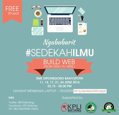 Event: Batang | Juni 2016 | Kelompok Pengguna Linux Indonesia Regional Batang | Ngabuburit Sedekah Ilmu