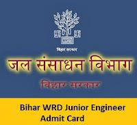 Bihar WRD Junior Engineer Admit Card