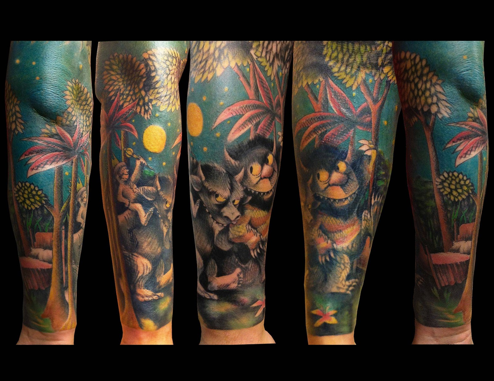 """guiltless reading: Amazing """"Where the WIld Things Are"""" Tattoos"""