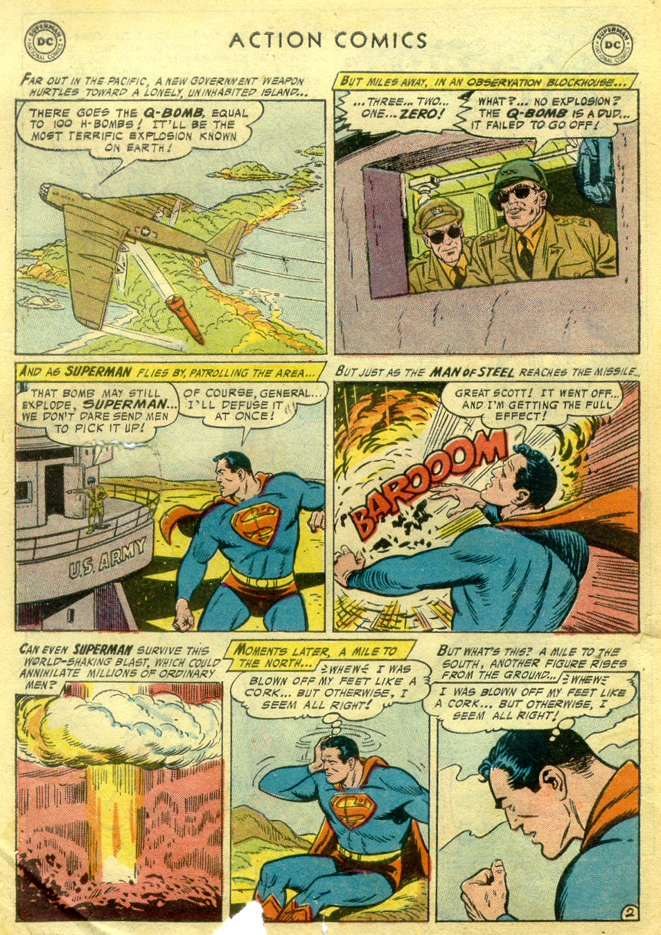 Read online Action Comics (1938) comic -  Issue #222 - 3