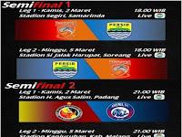 Jadwal Arema Vs Semen Padang, Persib Vs Pusamania Borneo FC