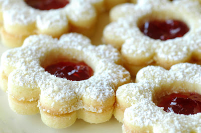 Linzer cookies By Chef Shireen anwer