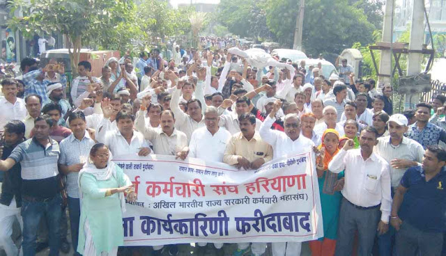 Haryana Roadways employees strike from October 16 to October 19
