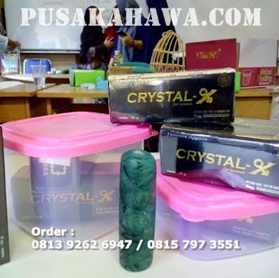 cara memakai crystal x
