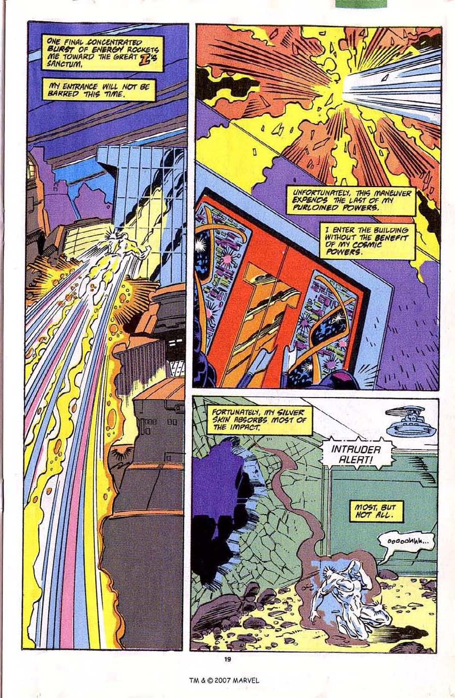 Read online Silver Surfer (1987) comic -  Issue #42 - 21