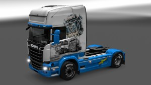 Vabis Old Skin Scania Streamline