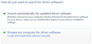 cara update driver modem