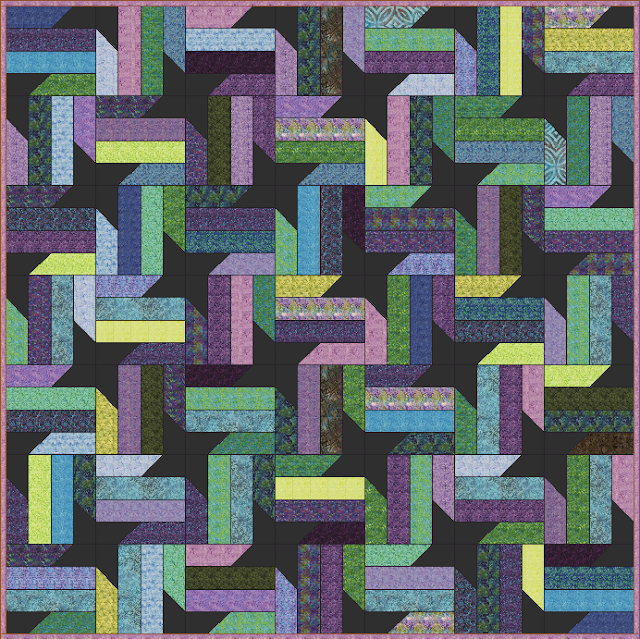 Lets Quilt Something Nebula Free Quilt Pattern Jelly Roll