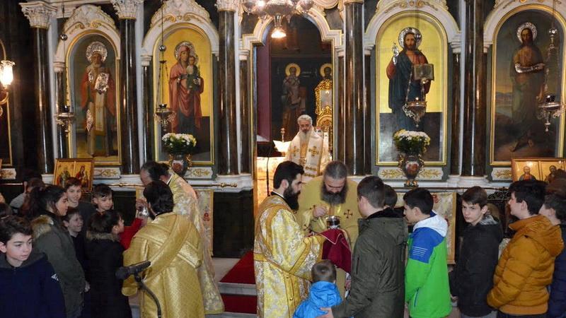 Πανηγυρικός εορτασμός των Τριών Ιεραρχών στην Αλεξανδρούπολη