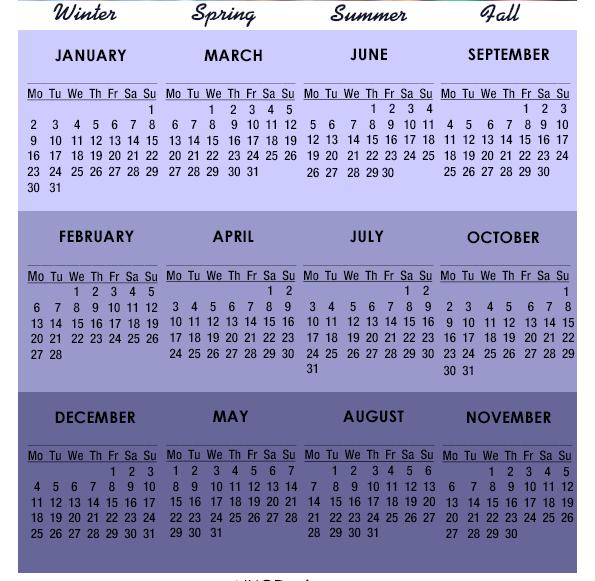 2017 calendar new zealand