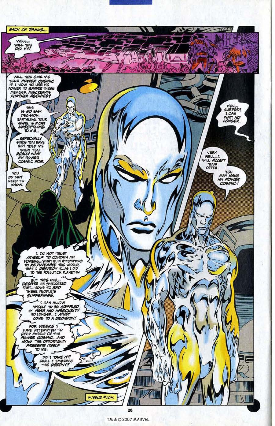 Read online Silver Surfer (1987) comic -  Issue #106 - 28