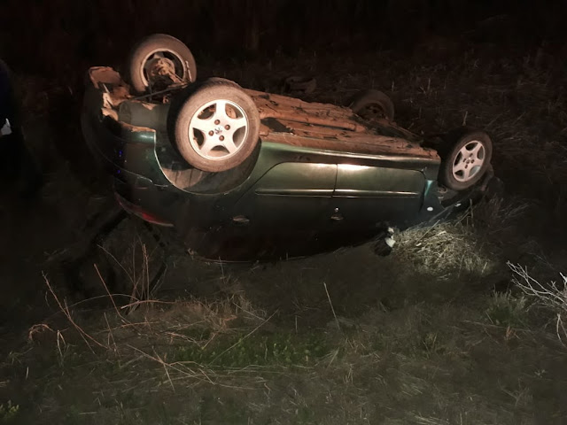 Padre e hijo tumbaron vehículo en cercanías a W. Escalante.
