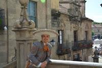 Solista de mariachi - cantante charro mexicano