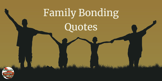 "Header image of the article: ""Family Bonding Quotes And Sayings To Inspire You"". Family holding hands together"