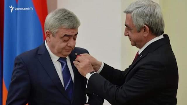 Despiden al hermano de Serzh Sargsyan de su puesto de embajador
