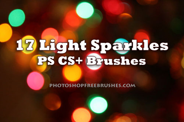 17 Sparkle of Lights Brushes