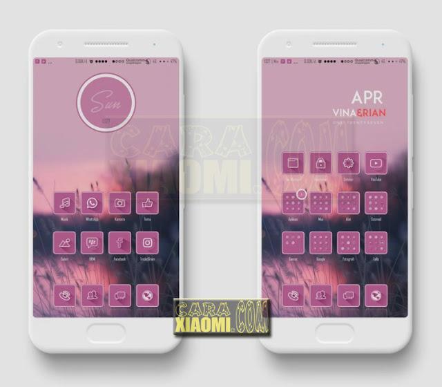 MIUI Theme OKB Trickster Mtz For Xiaomi Redmi V9 / V8 Themes