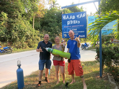PADI Emergency Oxygen Provider Instructor course on Koh Phangan in March 2016