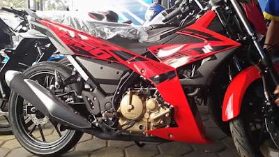 Satria F150 FI Stripping Baru - Merah
