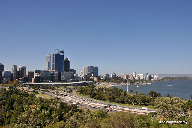Perth Skyline from Kings Park, Western Australia