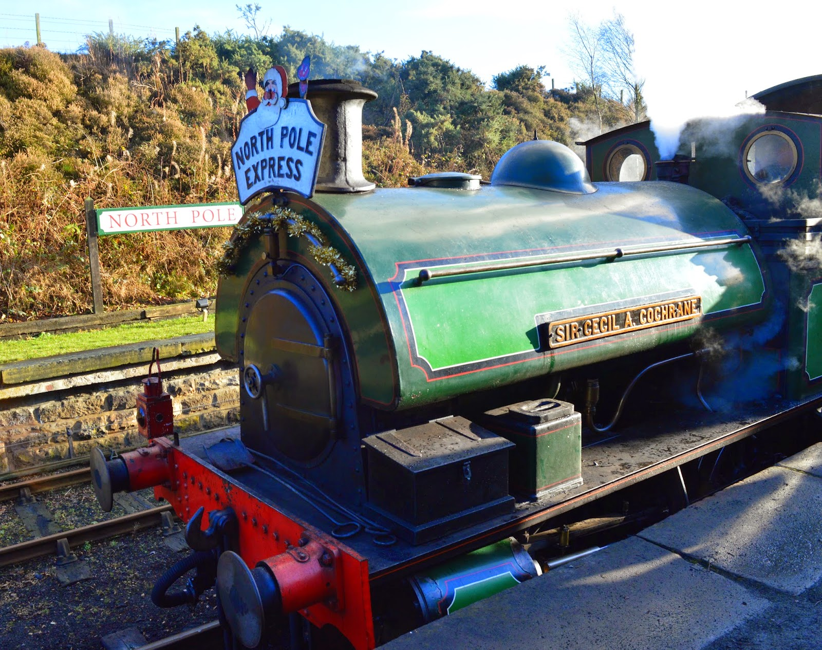 What's on in the North East for kids | Our Top Recommendations for Christmas 2016 - Tanfield Railway North Pole Express