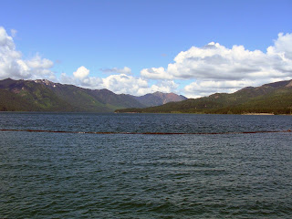 Cle Elum Lake is a reservoir managed by the U.S. Bureau of Reclamation.