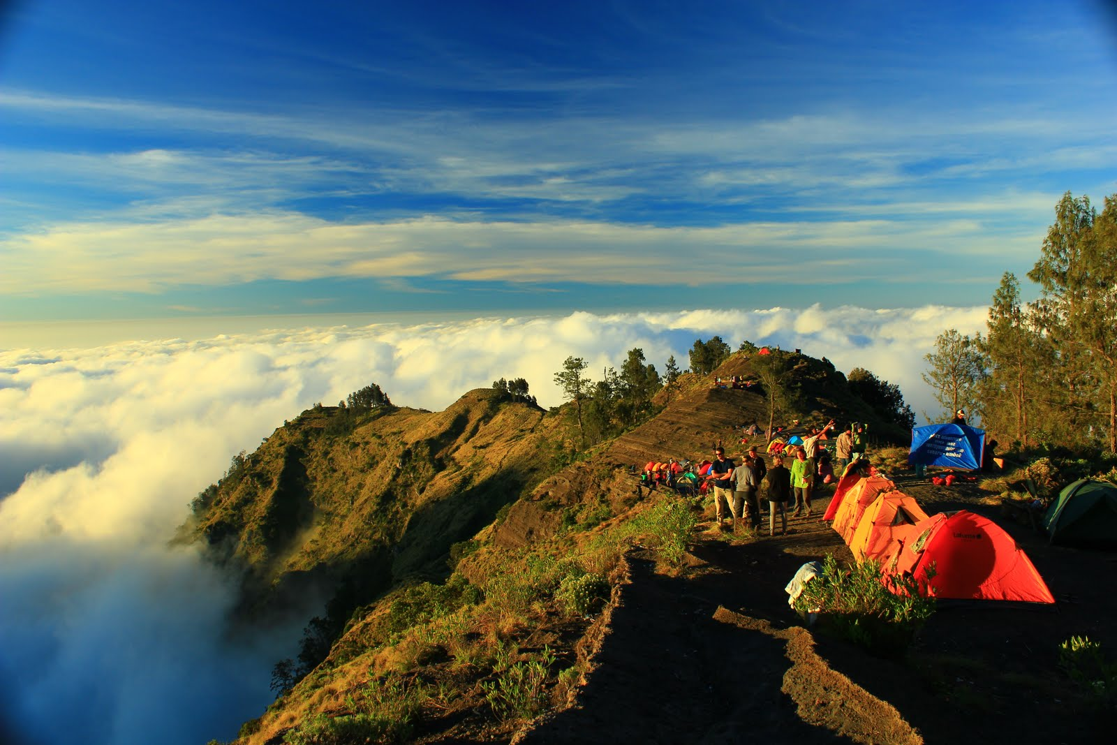 Is Most Beautiful Scenery In The World Gunung Rinjani National