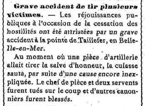L'Avenir du Morbihan 23 novembre 1918