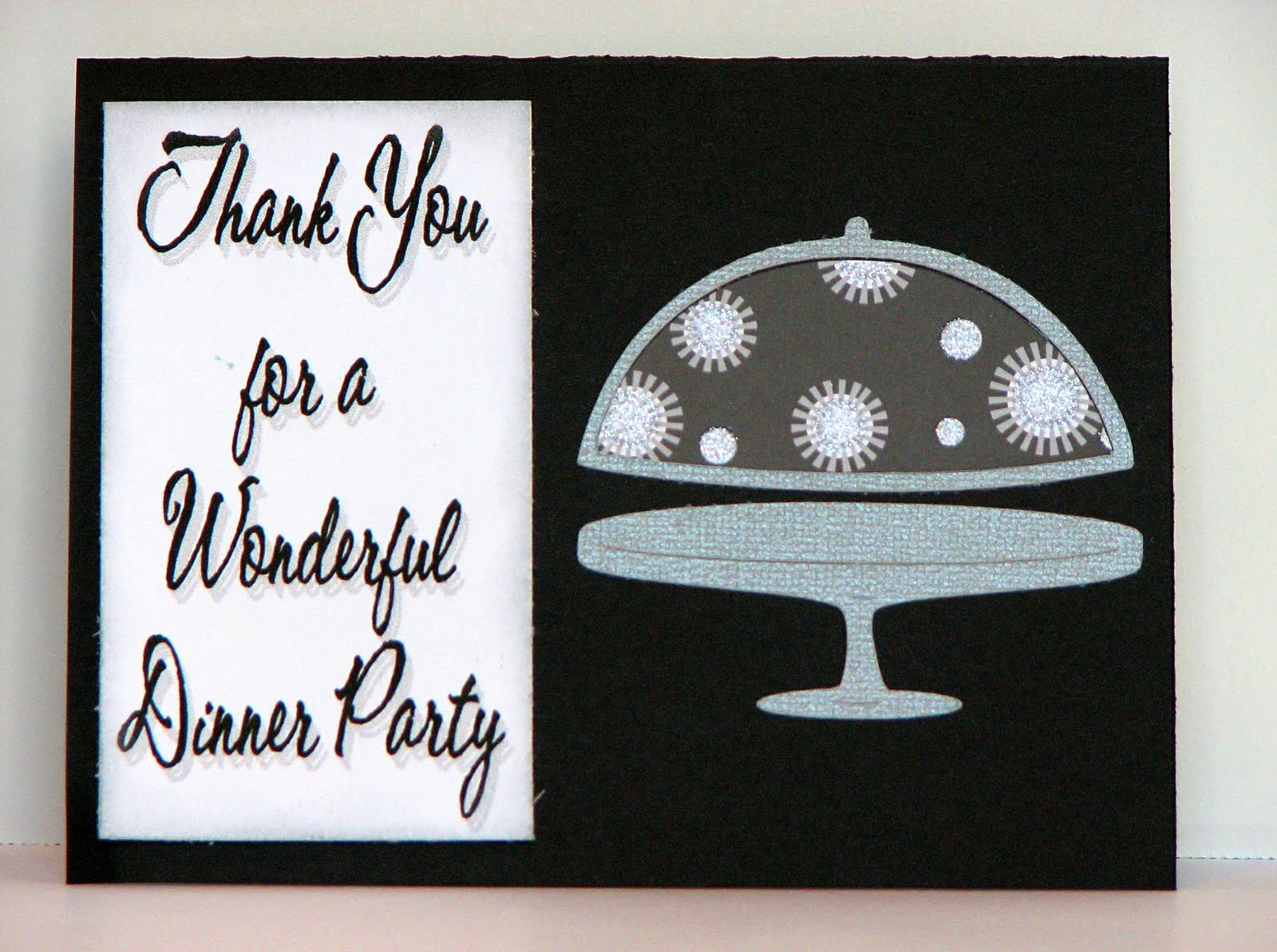 Super The Cricut Obsession: Dinner Party Thank You KW34