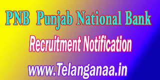 PNB (Punjab National Bank) Recruitment Notification 2016 www.pnbindia.in