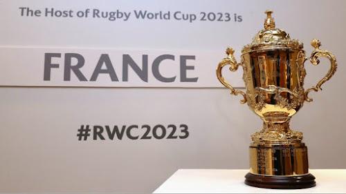 Sorteo del mundial de Francia RWC 2023