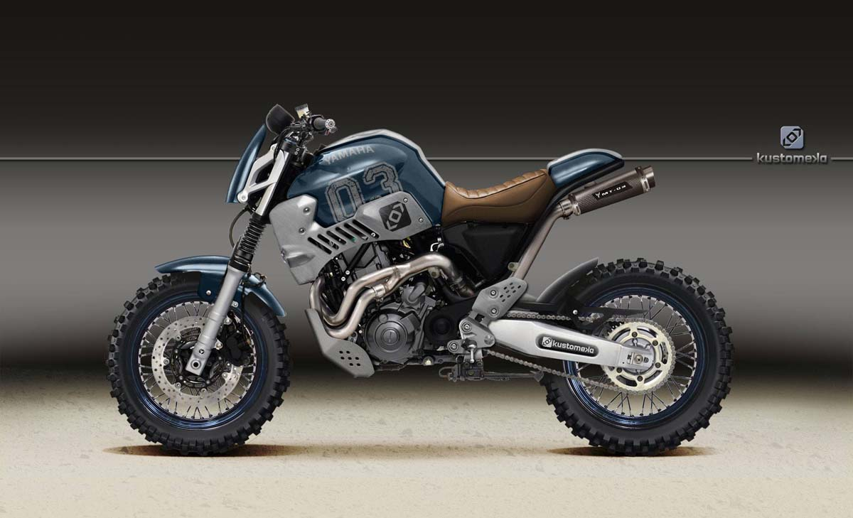 Yamaha Xscafe Racer