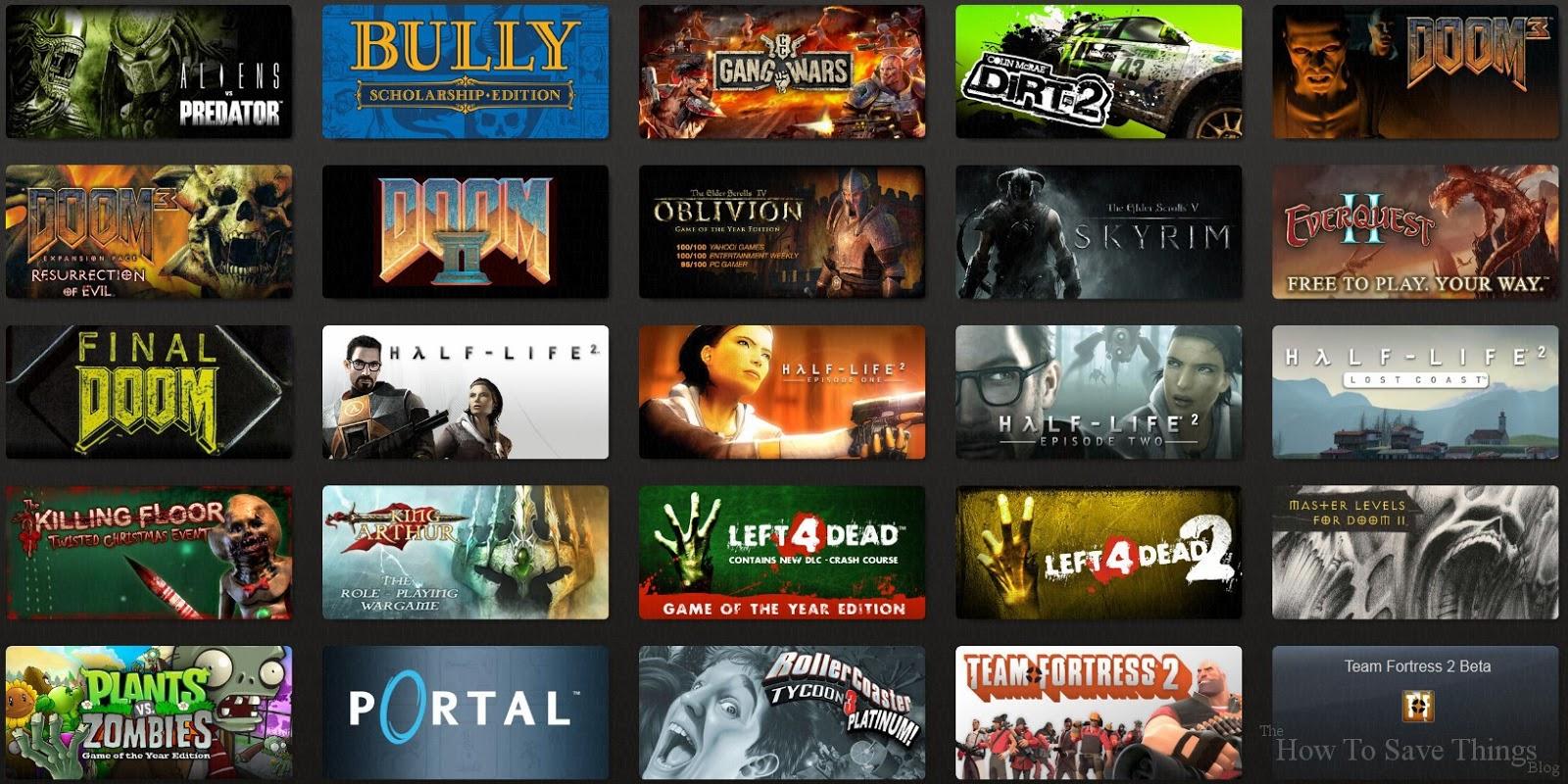 Free Fun Steam Games