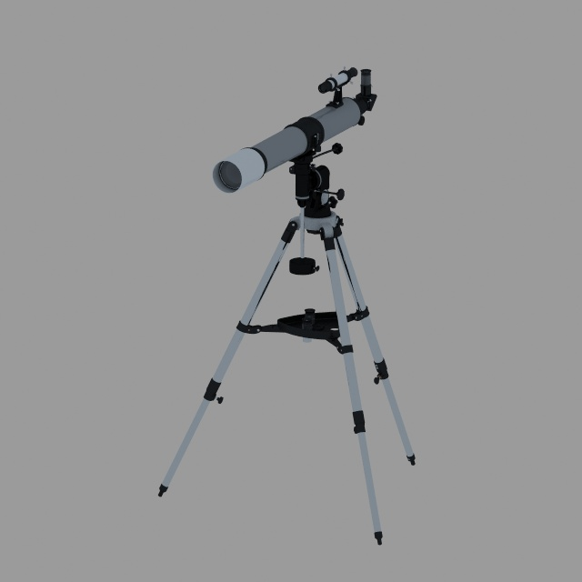 Teleskop 3Dmodel