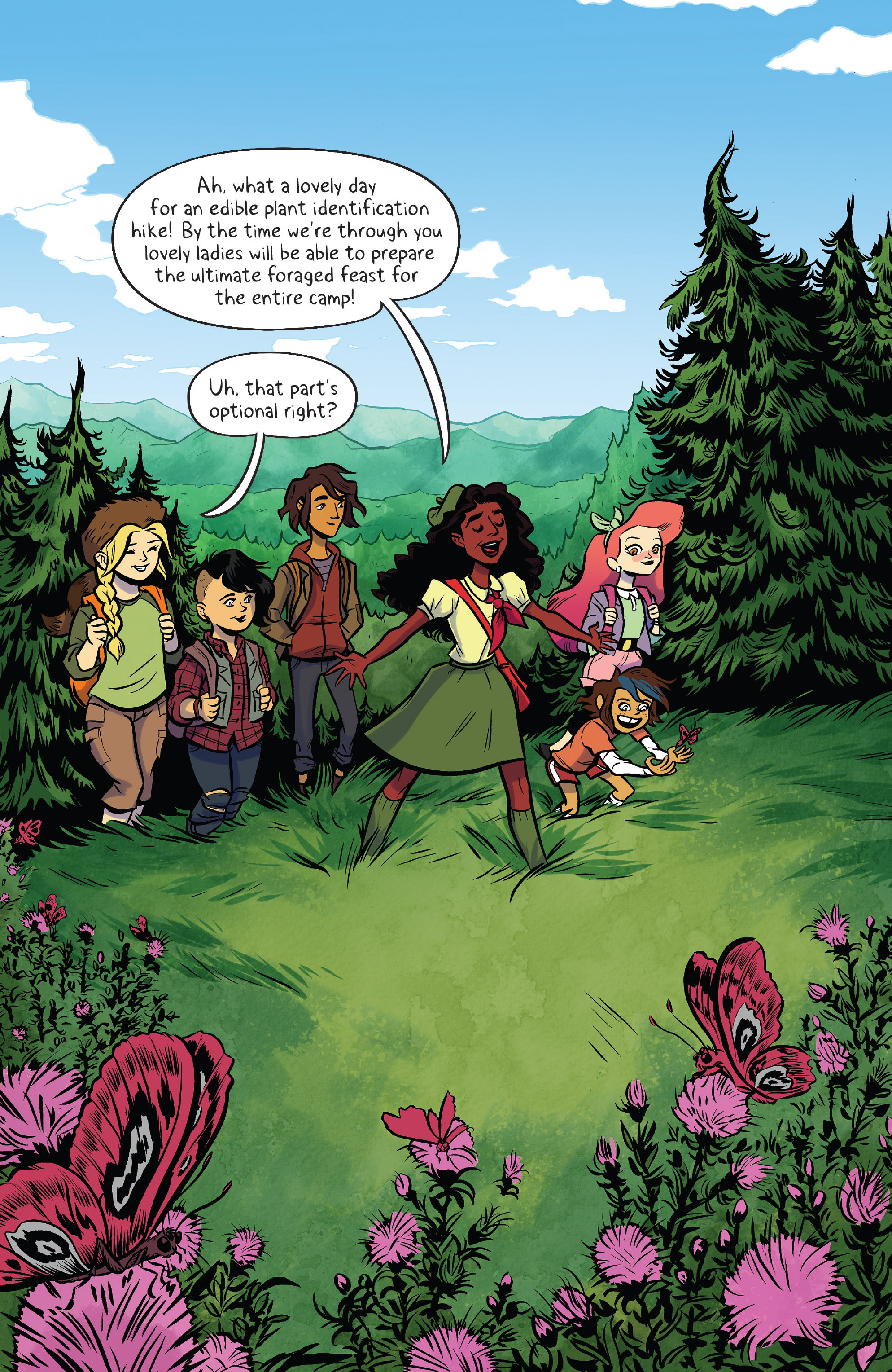 Read online Lumberjanes: Makin' the Ghost of It 2016 Special comic -  Issue # Full - 3