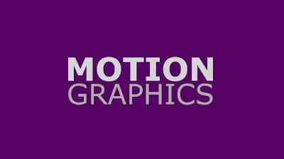 Motion Graphics adalah percabangan dari Seni Desain Graphics yang merupakan penggabungan dari, Ilustrasi, Tipografi, Fotografi dan Videografi dengan menggunakan teknik Animasi.