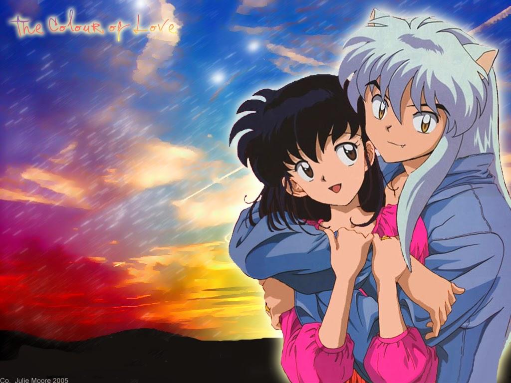 Kumpulan Gambar Kikyo dan Inuyasha Paling Romantis - Rifa