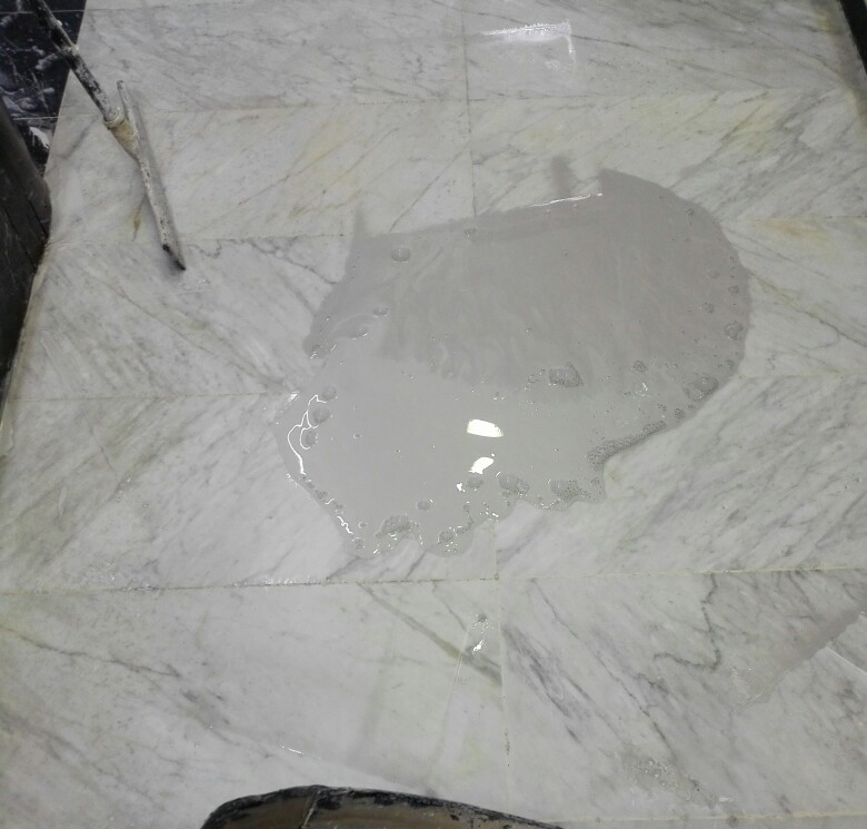 Pulir suelo a mano finest de la mano del diamante para - Pulir marmol a mano ...