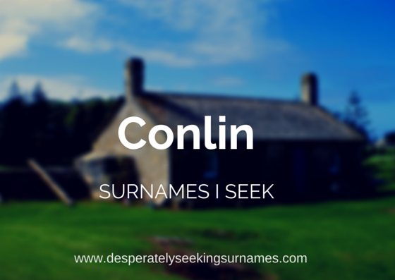 Conlin Surname Research Roscommon County Ireland