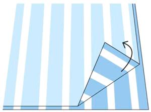 Как раскроить ткань с узором