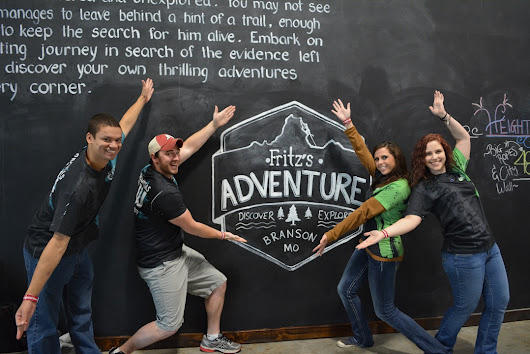 The Crew Checks out Fritz's Adventure in Branson