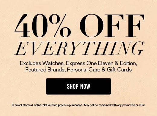cda7715b67ba 40% Off Sale at Express + Favorites