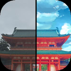 Everfilter Aplikasi Edit Foto Menjadi Mirip Anime