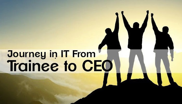 Journey in IT from Trainee to CEO