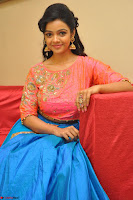 Nithya Shetty in Orange Choli at Kalamandir Foundation 7th anniversary Celebrations ~  Actress Galleries 105.JPG