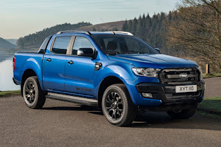 Ford Ranger Wildtrak X Double Cab (2018) Front Side