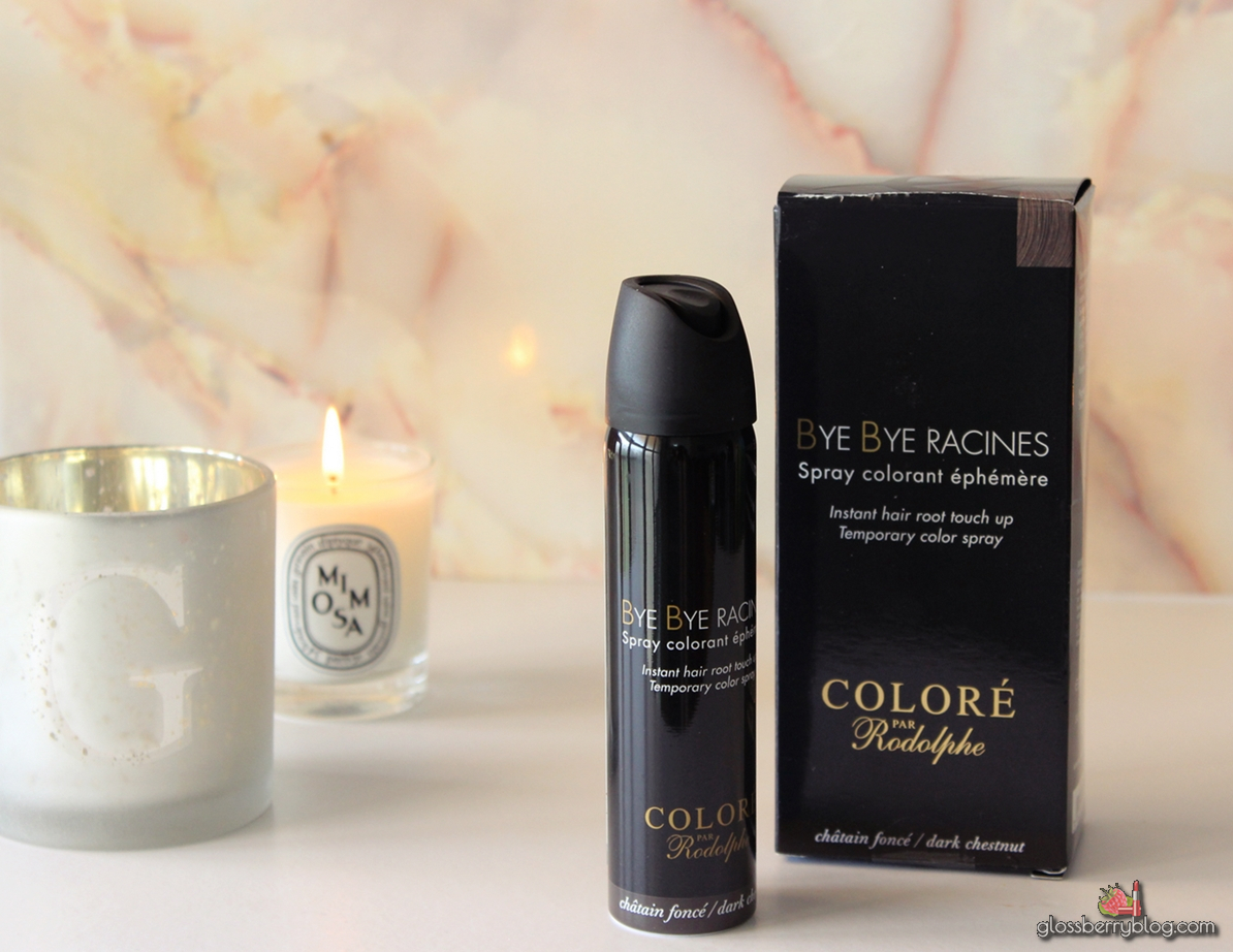 bye bye racines hair coloring spray roots touch up ספריי כיסוי שורשים שיער לבן