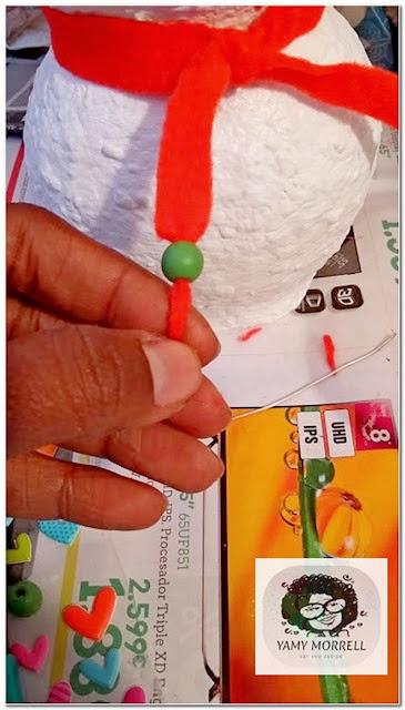 handmade-Snowman-paper-clay
