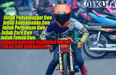 Gambar Kata DP BBM Anak Racing Paling Keren Terbaru
