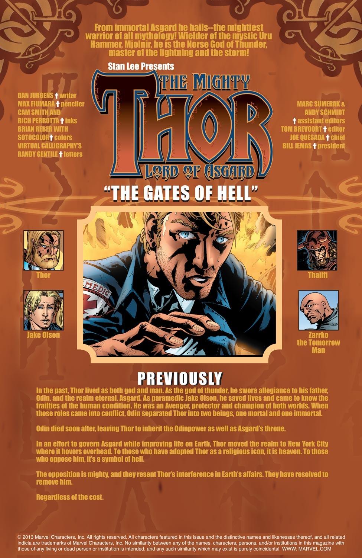 Thor (1998) Issue #67 #68 - English 2